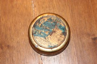 Antique French Tin Box Pastilles Valda 1920 ' S photo