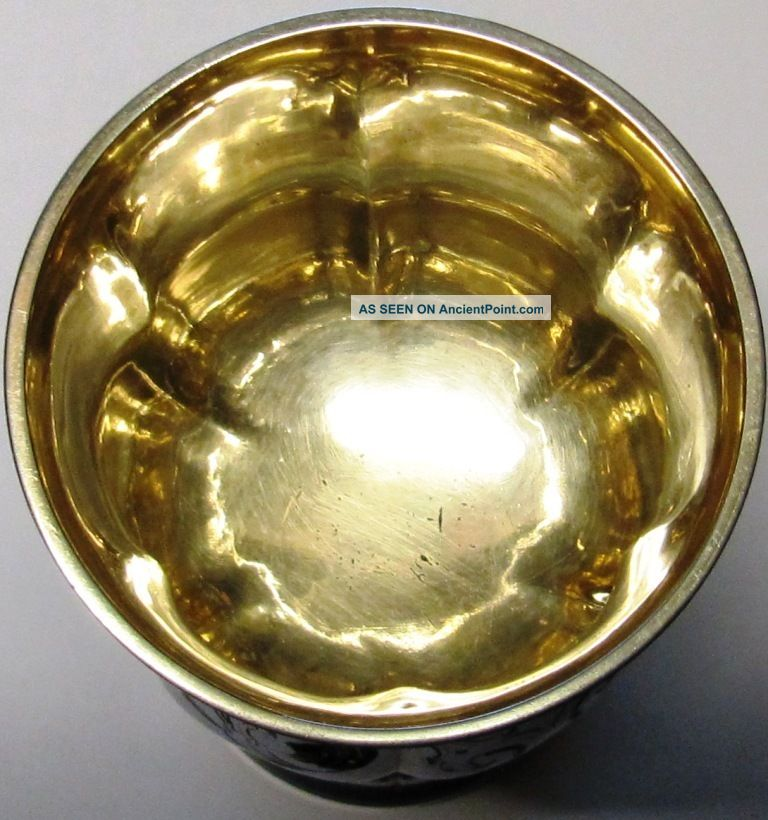 S/silver Jersey Chalice 1850 John Le Gallais Stunning Condition Cups & Goblets photo