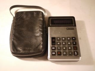 Rare Vintage Calculator Sanyo Model Icc - 810 photo