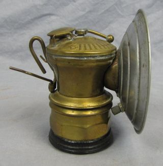 Antique Auto Lite Carbide Lamp 2 With