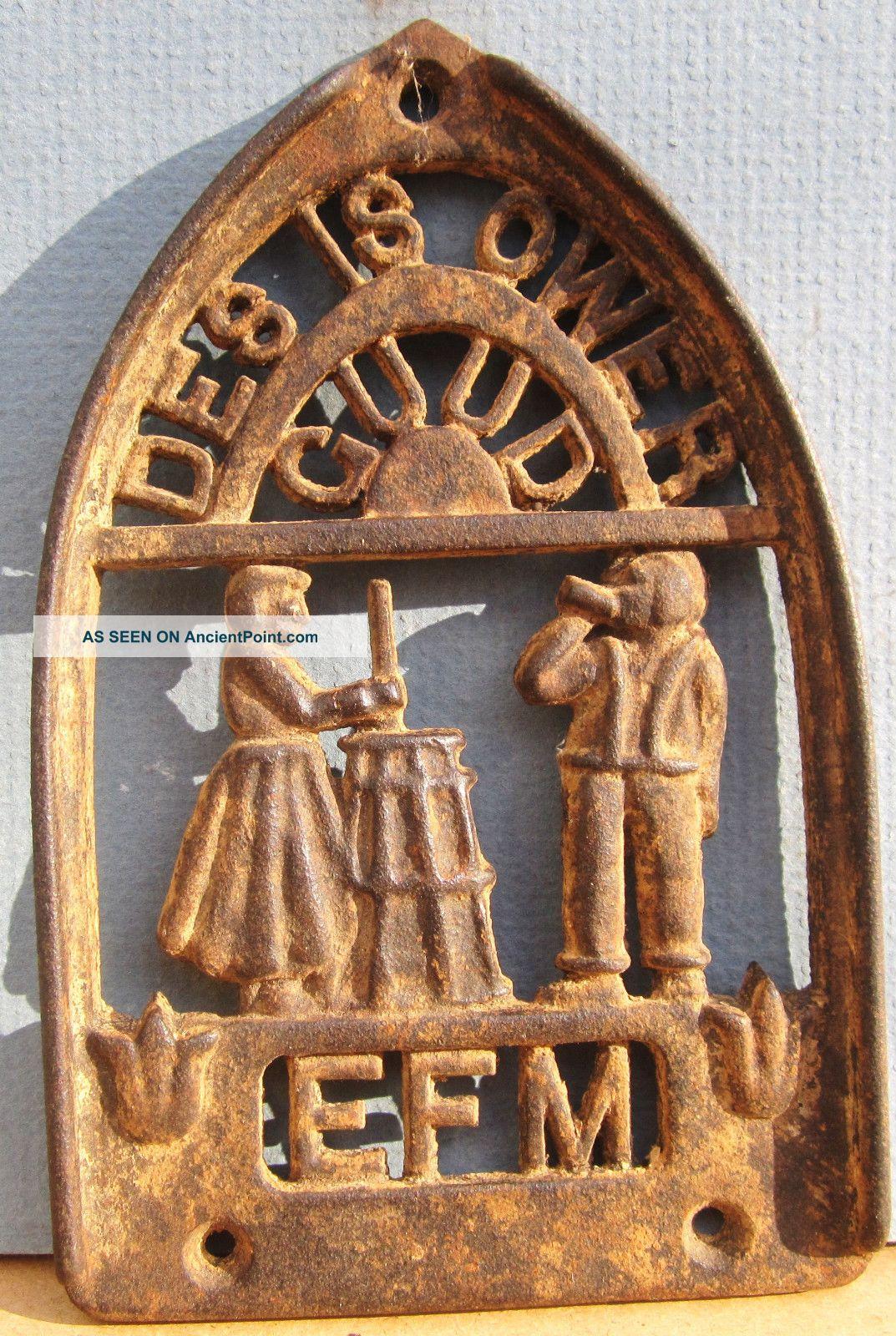 Fraktur Antique Pa German Trivet