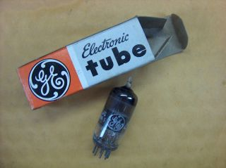 Vtg Ge Vacuum Electron 6bz6 Ham Radio Tv Cb Amp Phono Tube Made In Usa Nos photo
