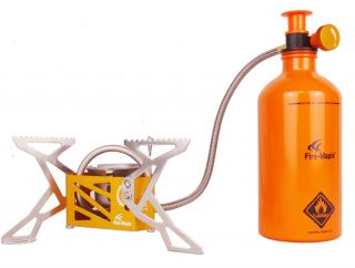 Fire - Maple Engine Stove Camping Stove 270g 3275w With Gas Bottle Fms - F3 photo