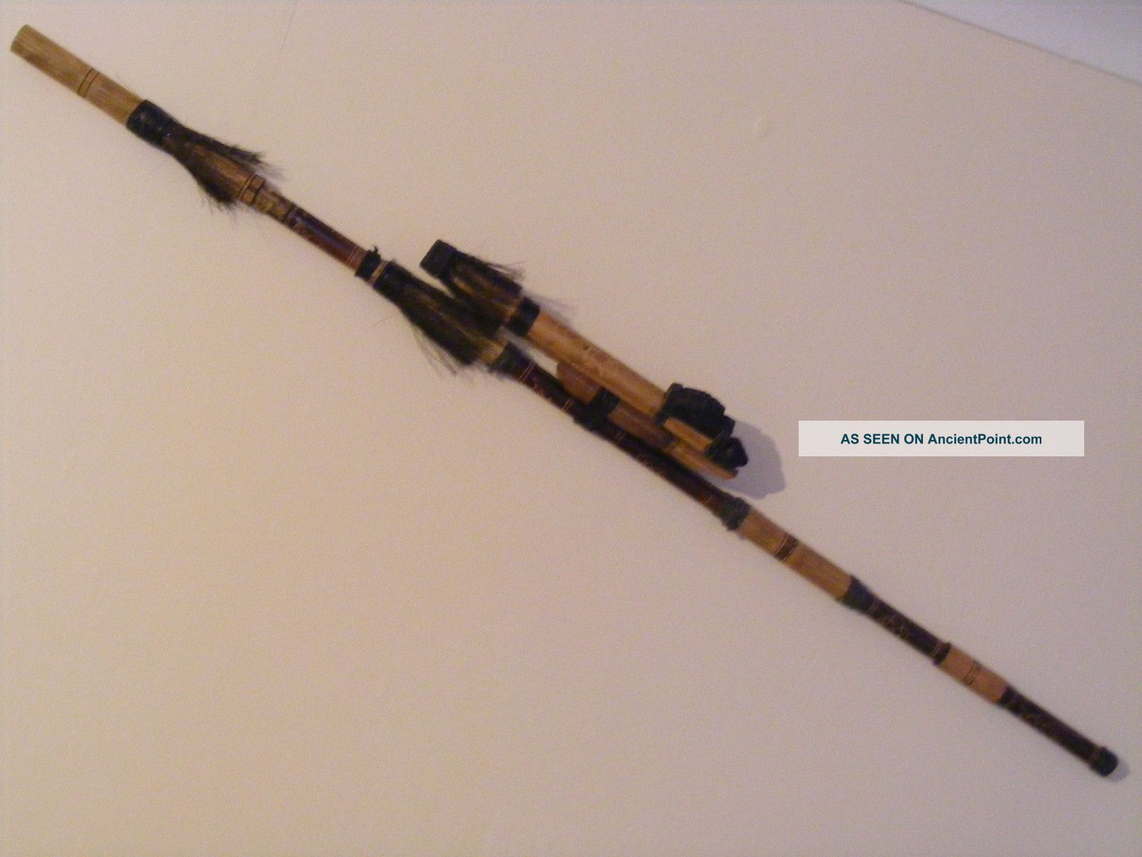 African Blow Pipe With Darts African photo