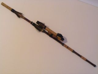 African Blow Pipe With Darts photo