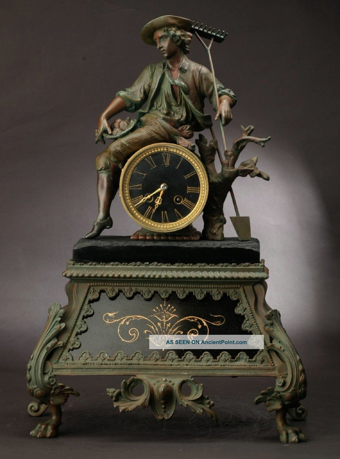 1850 Samuel Marti cie. French clock photo