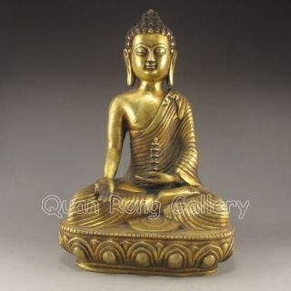 Chinese Bronze Statue - Buddha Nr photo