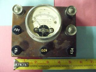 Voltammeter Hoyt Electrical Instrument Co.  Antique Electrical Tester photo