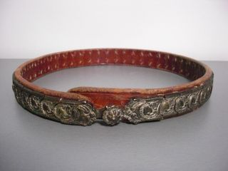 Antique Ottoman Silver - Gold Belt 1850 ' S 19th C.  Islamic Rare Museum photo