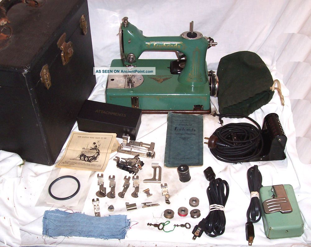 Refurbished Serviced Antique Vintage Standard Sewhandy Ge Model A Sewing Machine Sewing Machines photo
