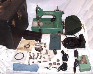 Refurbished Serviced Antique Vintage Standard Sewhandy Ge Model A Sewing Machine photo
