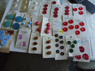 Antiqtue Buttons Carved,  Plastic Glass,  Fancy,  Celluloed,  From All Over The Country photo