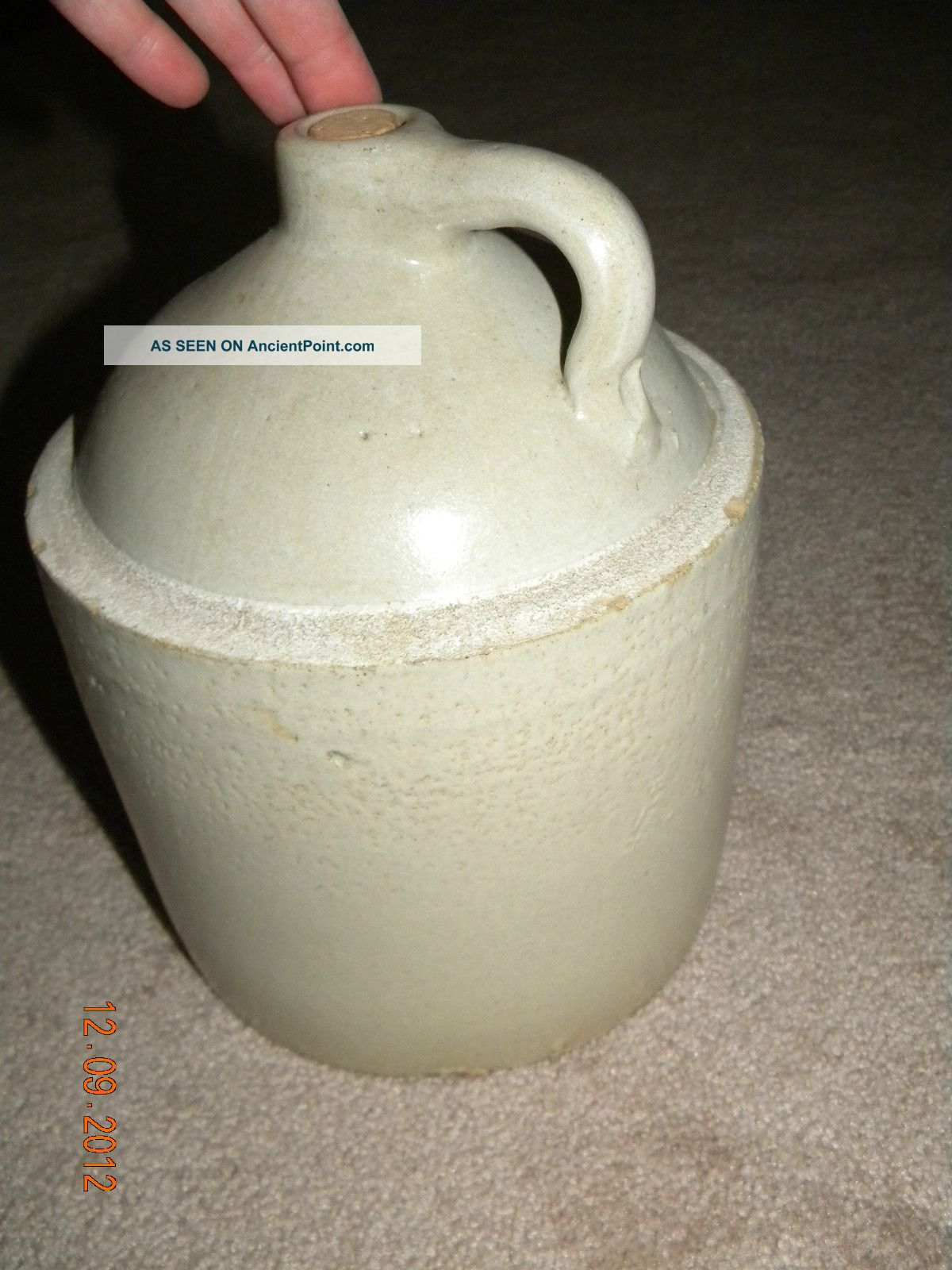Antique & Old Kentucky Wiskey Moonshine Jug Pottery, Crock ...