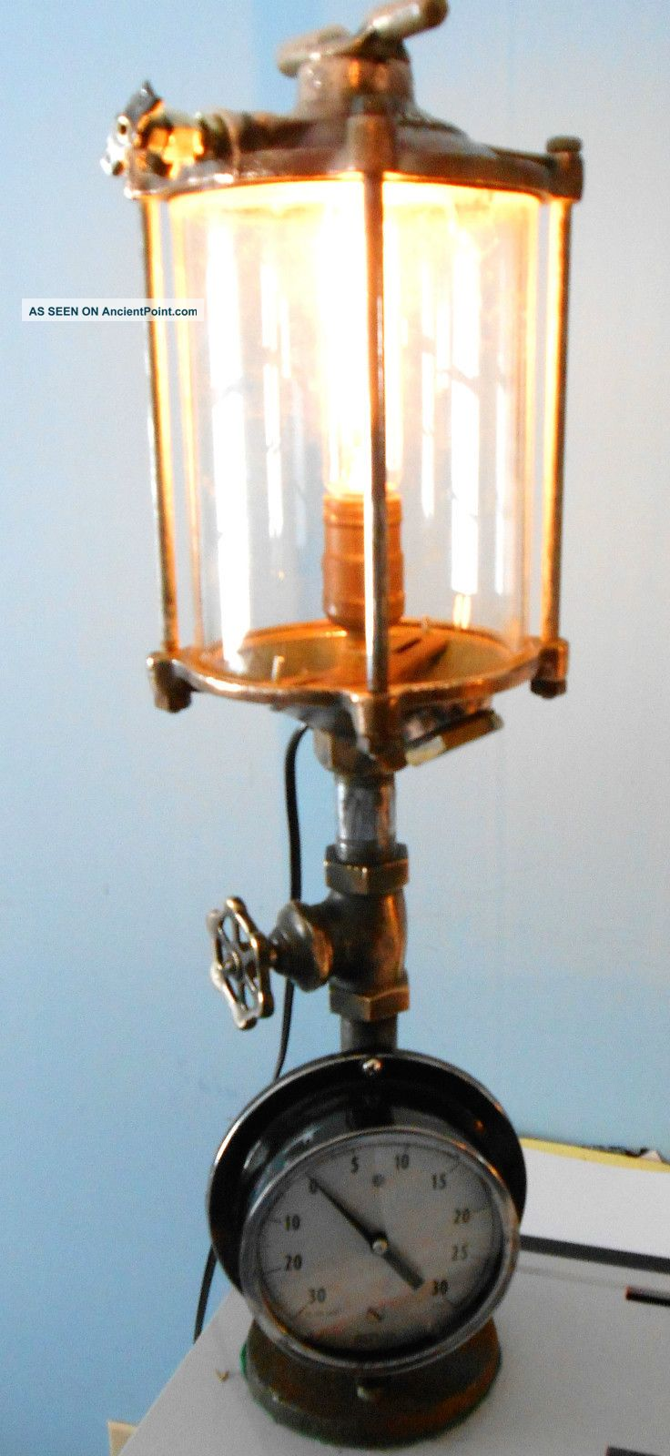 Decosee industrial table lamp for Industrial design table lamps