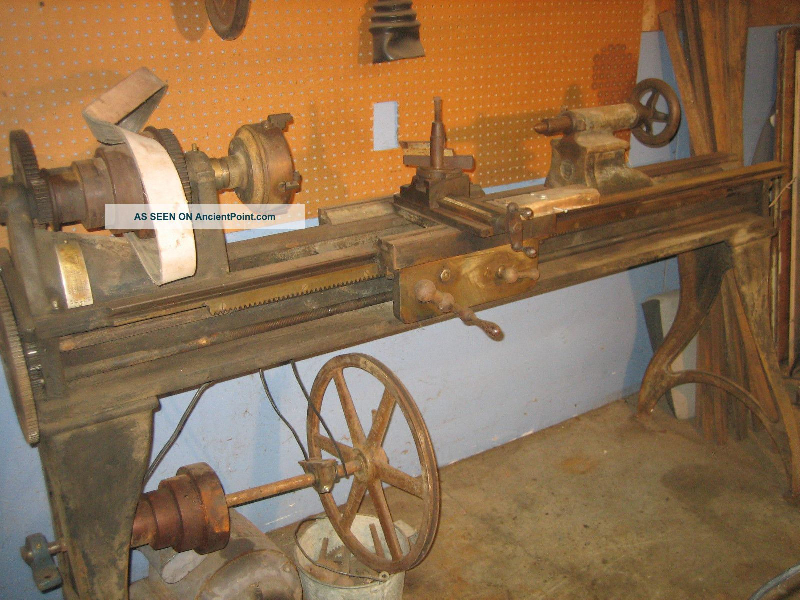 W F & J Barnes Co.  5 1/2 Metal Lathe Other photo
