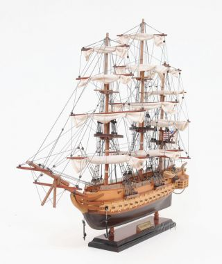 Uss Constitution Wooden Tall Ship Model 22
