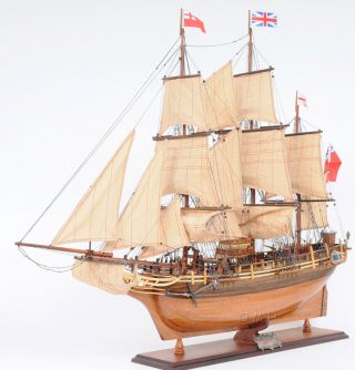 Hms Bounty Wooden Tall Ship Model 37