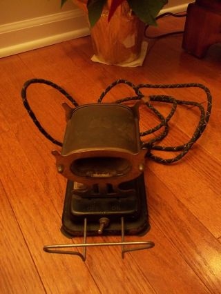 Antique Vintage Solar Electric Mfg.  Co.  Ceramic Thermal Stove Made In S.  F. ,  Usa photo