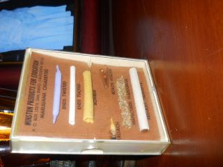 Marijuana Cigarette Medical Information Display - Reefer Madness Era photo