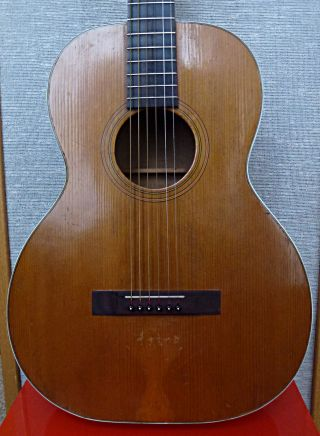 Vintage Stella - Admiral Parlor Acoustic Guitar photo