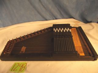 1248.  Vintage Autoharp Produced By Oscar Schmidt International Incorporated photo