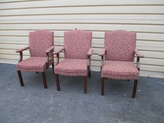 51445 Set 3 Kimball Office Chairs Chair S photo
