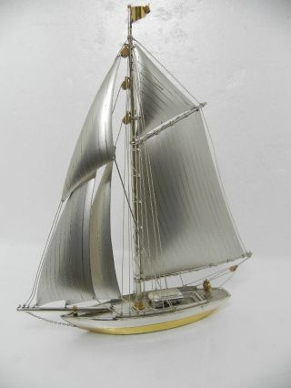 Hand Crafted Japanese Sterling Silver 970 Ship Not Scrap 148 Grams 5.  2 Oz Japan photo