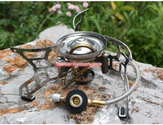 Bulin Camping Stove Gas Burner Split - Type Gas Stove 3000w X2 - A photo