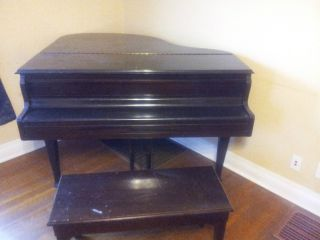 Starck Baby Grand Piano photo