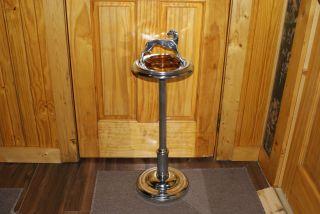 Greyhound Smoke Stand / Ashtray photo