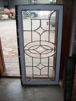 Simple Thick Glass Beveled Window (sg 1279) photo