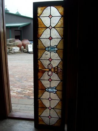Infinity Torch Stained Glass Window (sg 1281) photo