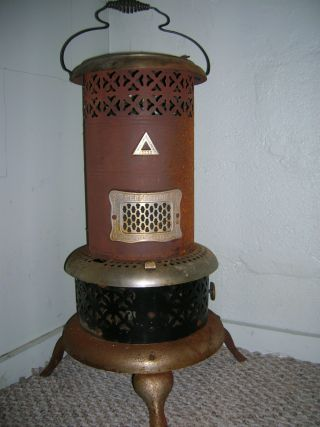 Vintage Antique Perfection 530 Oil Heater Stove Industrial Metal Steampunk photo
