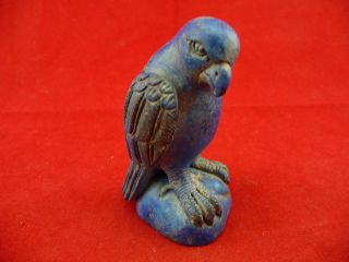 Chinese Miraculous Old Stone Eagle Statue 709 photo