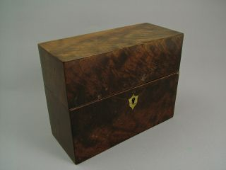A Geo.  Iii Mahogany Apothecary ' S Box. photo