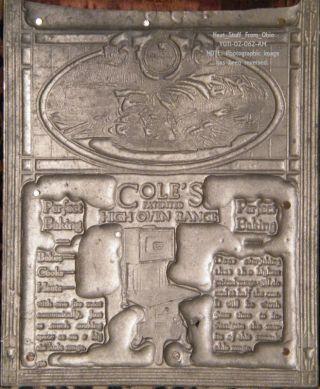 Cole ' S High Oven Range - Printer ' S Block - C1920 - Rare photo