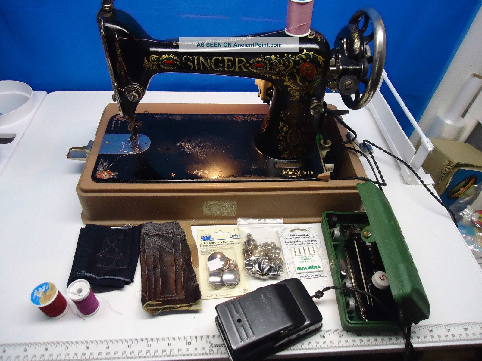 Singer 66 Redeye Heavy Duty Industrial Strength - Vintage - For Leather & Much More Sewing Machines photo