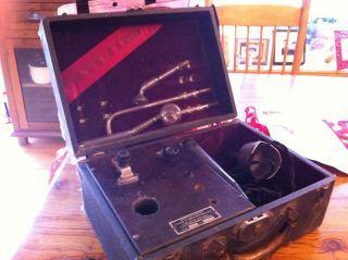 Antique Violet Ray High Frequency Generator photo