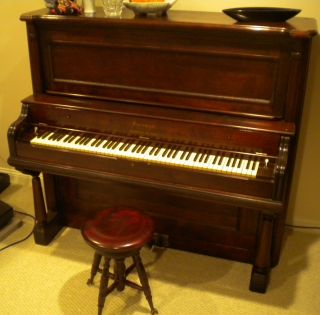 1887 Farrand Reed Pump Organ And Stool, ,  Not Restored,  Playable photo