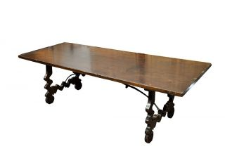Catalan Farm Table From Late 19th Century Eb - T2305 photo