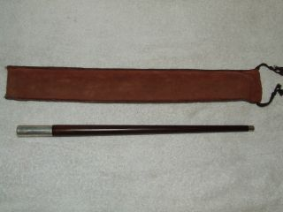 Antique Sterling Silver & Rosewood Orchestra Conductor ' S Baton Reed & Barton Usa photo