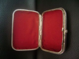Fine Russian 84 Silver Rectangular Cigarette Case Moscow - 76gr photo