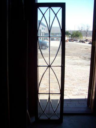 Bevel Glass Window 2 Eyes Transom (sg 1188) photo