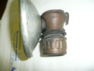 Antique Auto Lite Carbide Lamp photo