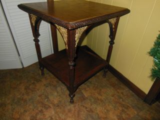 Unusual Victorian Parlor Table photo