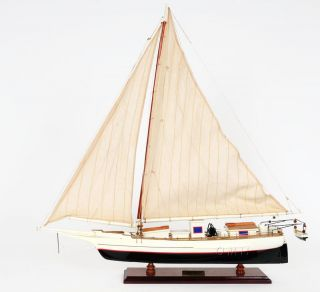 Chesapeake Bay Skipjack Scale Wooden Model Ship 29
