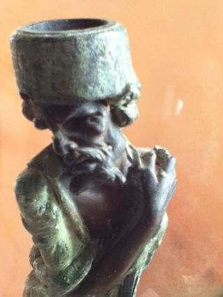 Syria. . . .  Persia ? Bronze/ Pewter Figural Statue - - - What Th.  Cent.  B.  C.  ??? photo