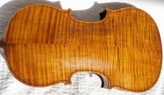 Old Violin Antonius Stradivarius Cremonenfis Faciebat Anno 1784 As Flame Back photo