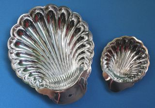 2 Gorgeous Vintage Silver Plated Bowls Rogers & Oneida photo
