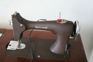 Antique National Sewing Machine / Sewing Vintage photo